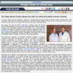 Scripps Center for Dental Care Features Two AACD-Accredited Cosmetic Dentists