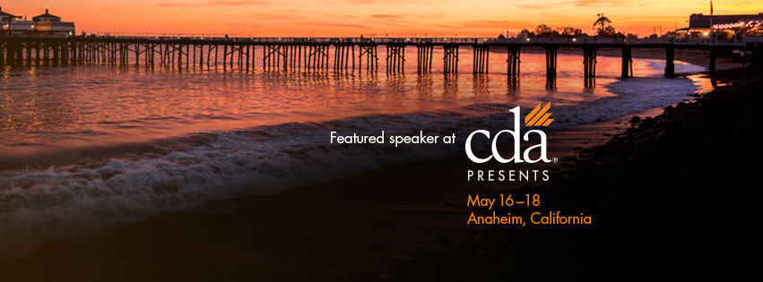 Dr. Weston was a featured speaker at CDA Presents The Art and Science of Dentistry 2019 in Anaheim, CA
