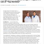 """AACD-Accredited Dentists Featured as """"Top Dentists"""" in San Diego Magazine"""